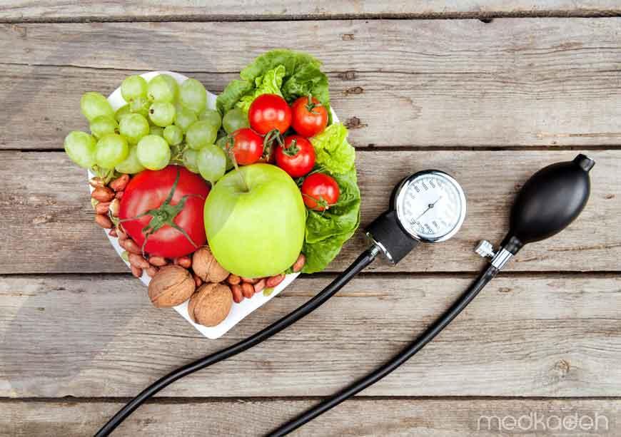 رژیم غذایی مناسب برای کنترل فشار خون