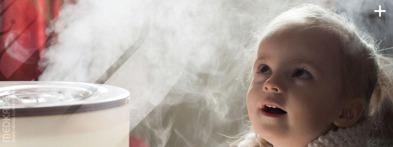 بخور سرد برای نوزادان