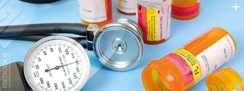 کاهش فشار خون با داروها