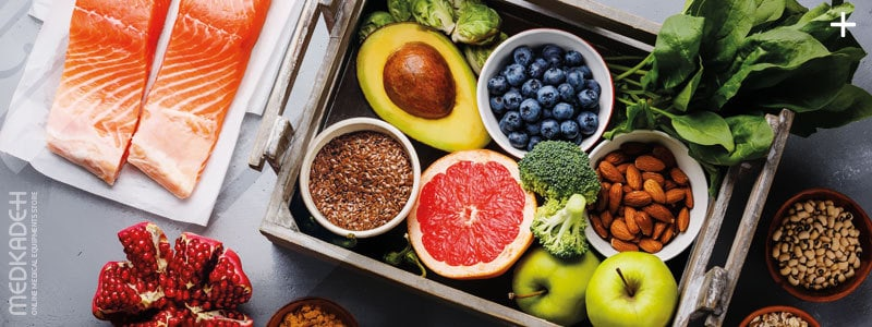 درمان فشار خون بالا با رژیم غذایی