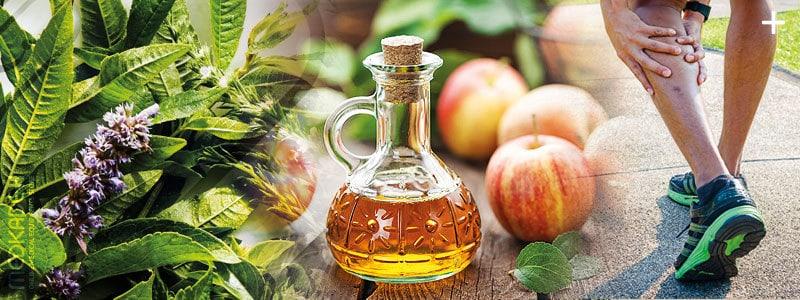 درمان واریس پا با سرکه سیب