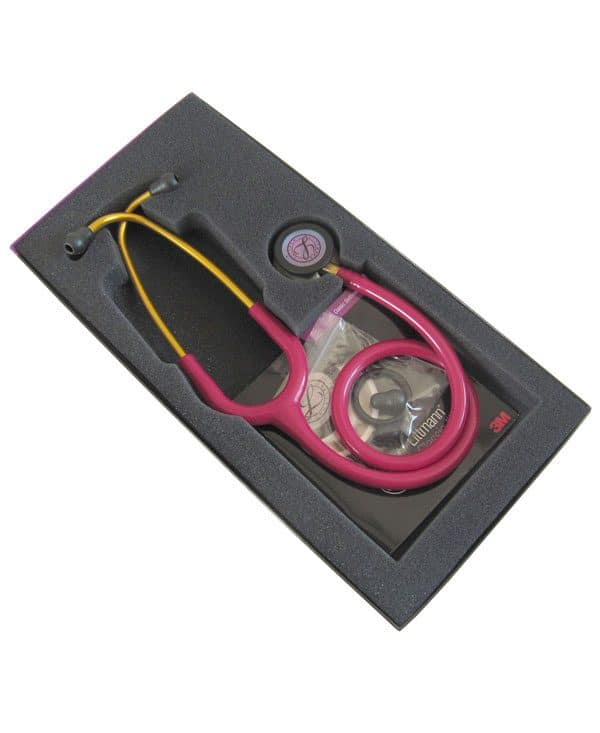 گوشی لیتمن کلاسیک ۳ سرخابی رنگین کمانی مدل ۵۸۰۶