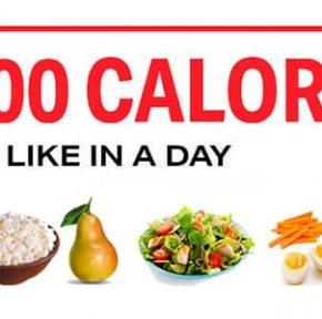 چگونه 1200 کالری در روز بخورید؟