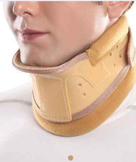گردنبند طبی سخت چانه دار Hard Cervical Collar with Chin Support