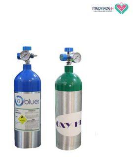 کپسول آلومینیومی 2 لیتری گاز اکسیژن طبی