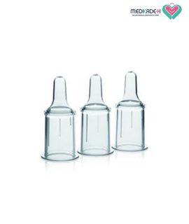 شیشه شیر با پستانک مخصوص شکاف کام مدل Cleft palate مدلا