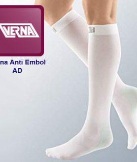 جوراب ضد آمبولی ورنا کفه دار تا زیر زانو Verna anti embolism socks AD