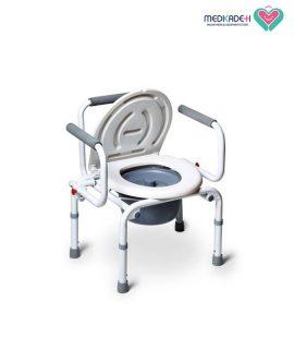 توالت فرنگی سفید مبله زیکلاس مد Zyklusmed HY6536