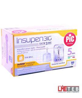سر سوزن انسولین پیک 5 میل 100 عددی Pic Solution Insulin Pen Needle